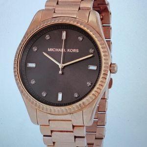 Michael Kors Rose Gold Blake Watch